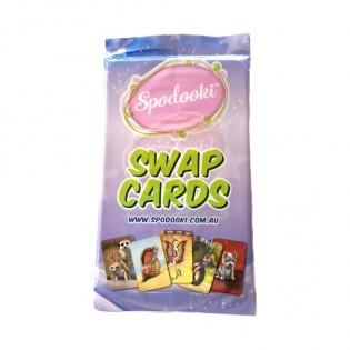 Spodooki swap cards – Sapphire Series